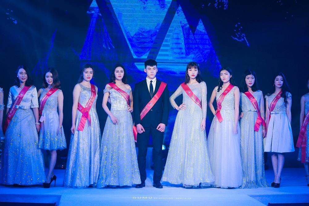 国际超模主播大赛往届选手亮相